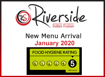 Riverside Indian New Menu