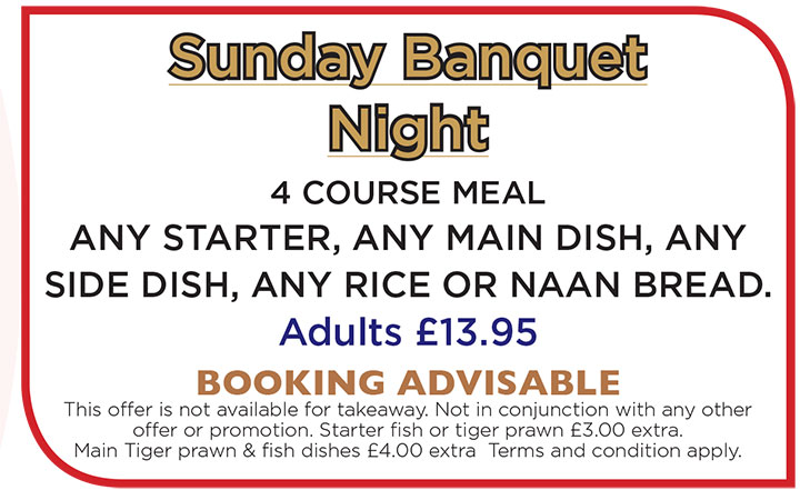 Special Offer at Riverside Indian Fusion