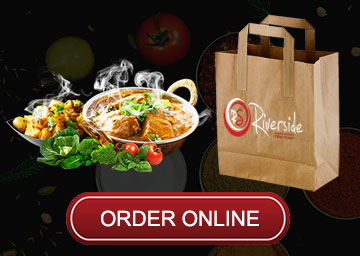Order Online with Riverside Indian Fusion